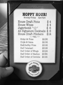 SPB Co - Hoppy Hr menu