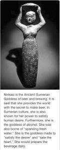 Ninkasi - Goddess of Beer!