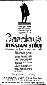 Barclay Russian Stout