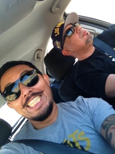 On the road to Oakland, Califas - Sept, 13 2014- via the 5 fray